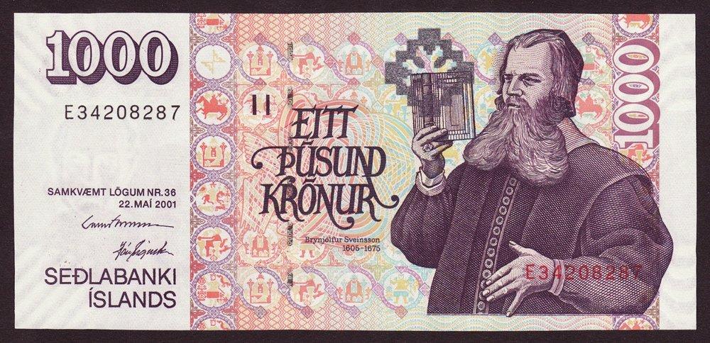 1000 Icelandic Krona
