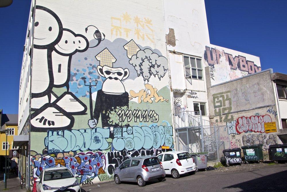 reykjavik street art 1