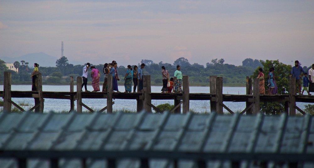 U Bein Bridge Mandalay Burma Myanmar 1.jpg