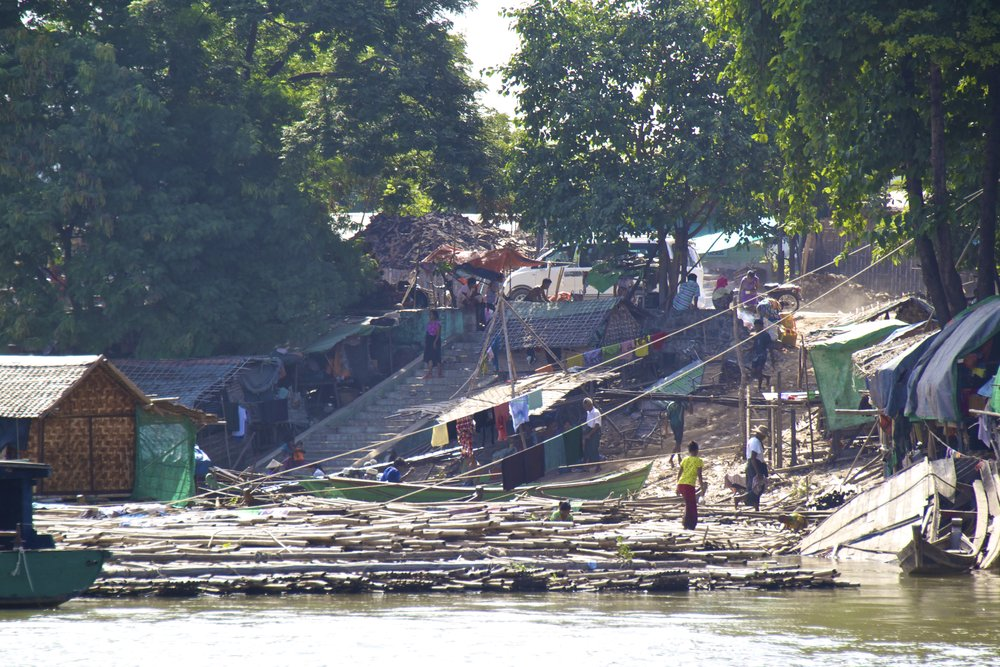 Irrawaddy River Mandalay Mingun Burma Myanmar 1.jpg
