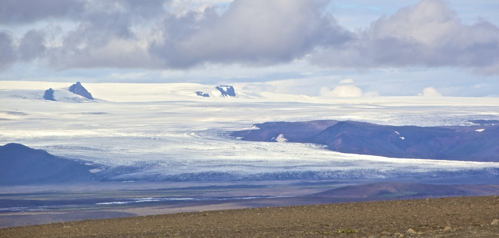 Langjökull Glacier Sprengisandur Iceland 3.jpg