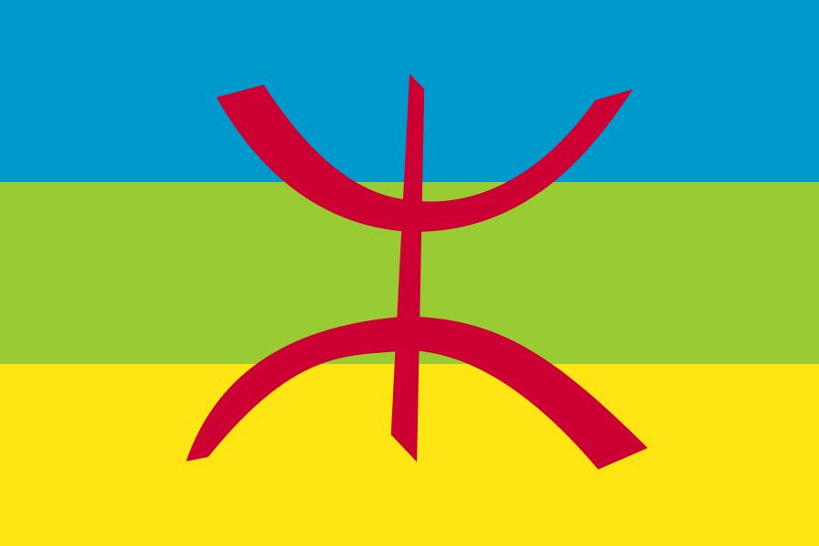The Amazigh Flag