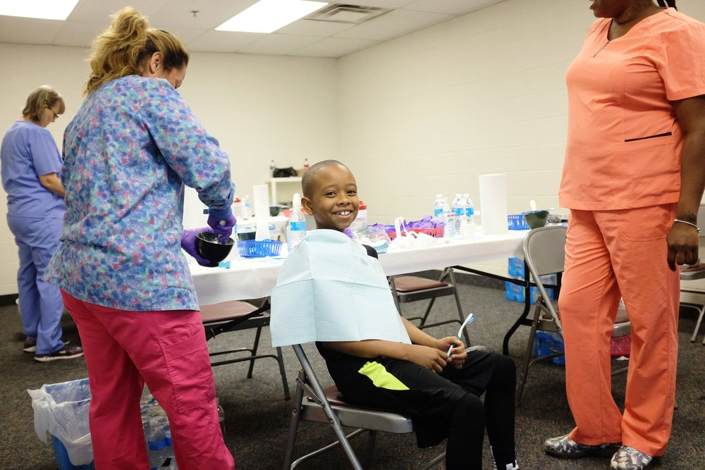 Read up on the success of our   2018 Flint Dental Health Fair    See Updates