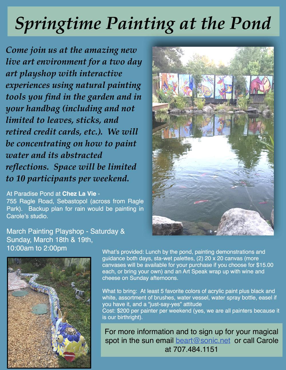 pond painting2017