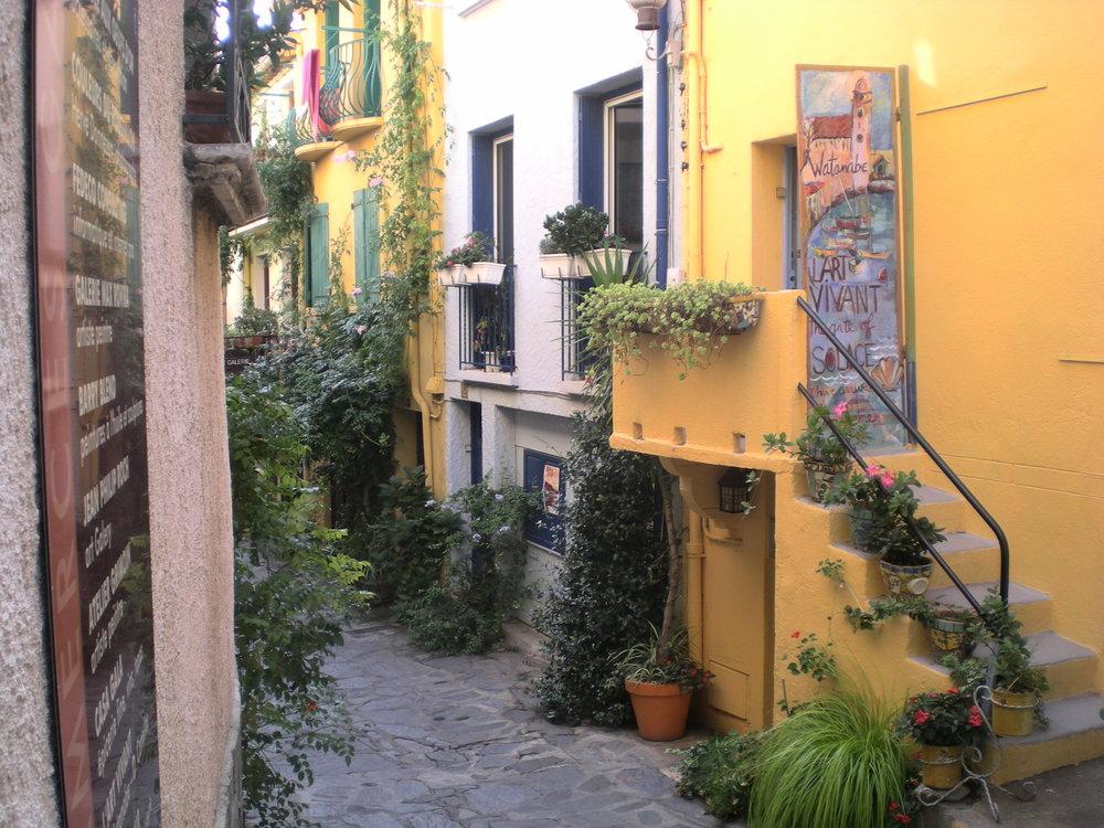 Entrance Collioure Apartments