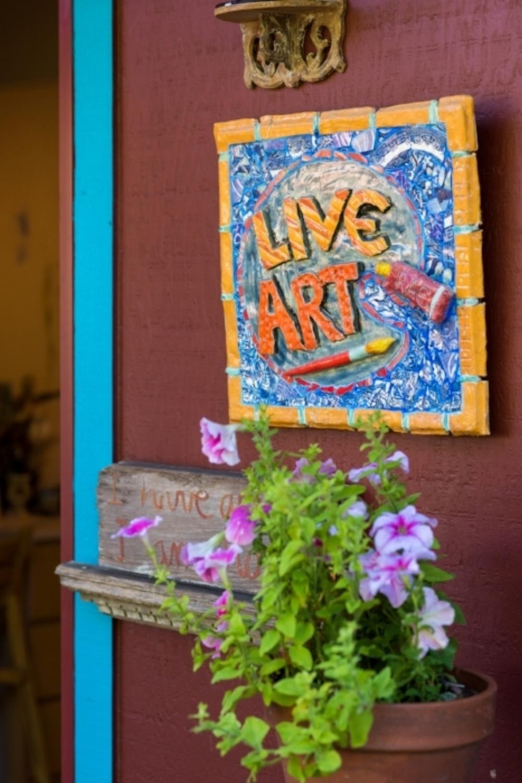 LiveArt Entrance Sign.jpg