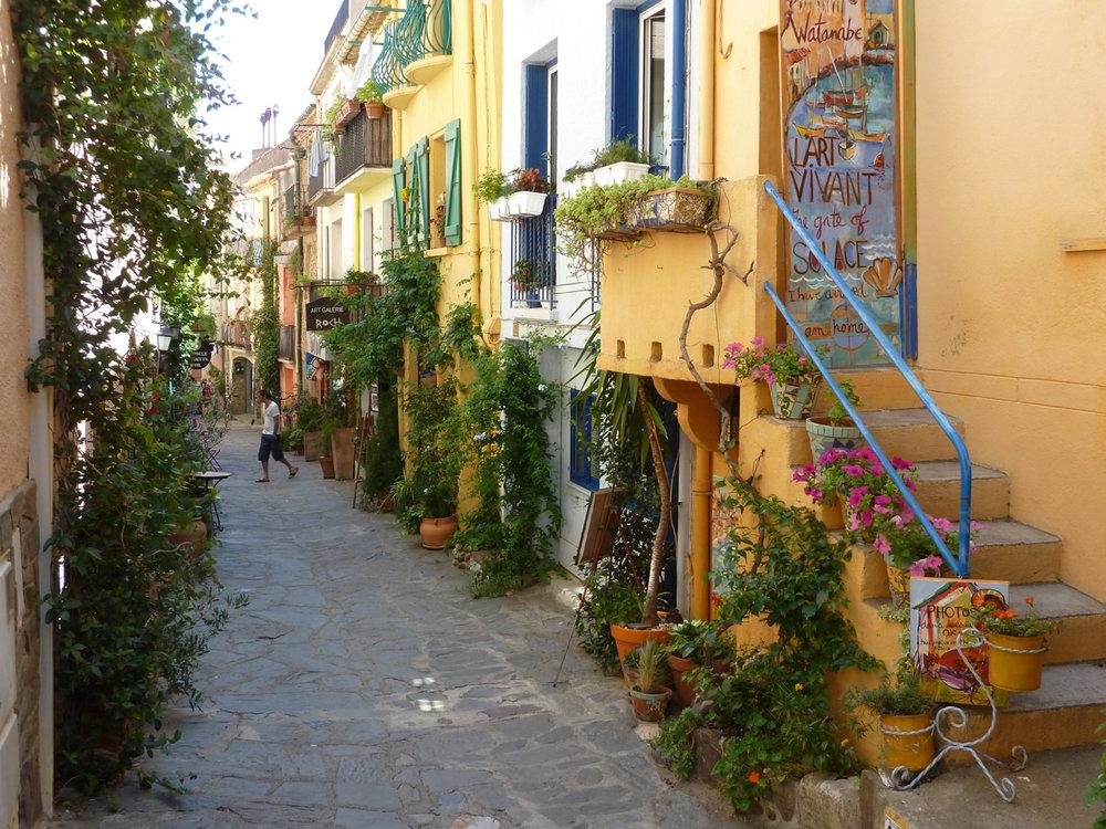rue de la Fraternitie Collioure