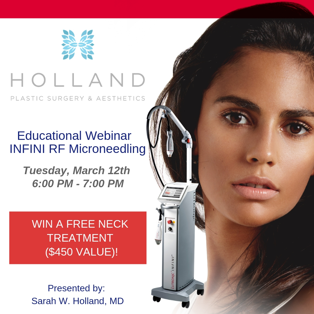 Free Educational Webinar - INFINI RF Microneedling — Holland