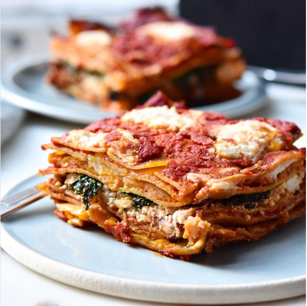 Lentil Pasta Veggie Lasagna Feed The Swimmers