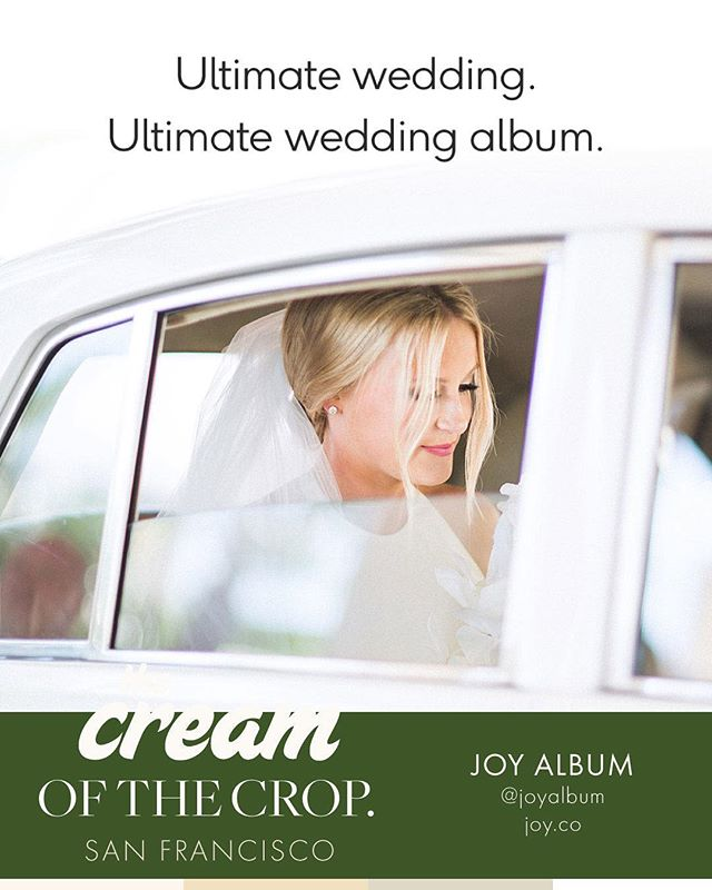 SF Crop:: Curate and share your favorite wedding photos (and videos!) with friends and family. Their beautifully designed albums are displayed on a sleek touchscreen device, complete with customizable layouts. Come check 'em out in person! Welcome to the crop, @joyalbum !