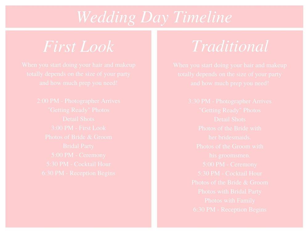 Wedding Day Timeline Photos By Alexandria