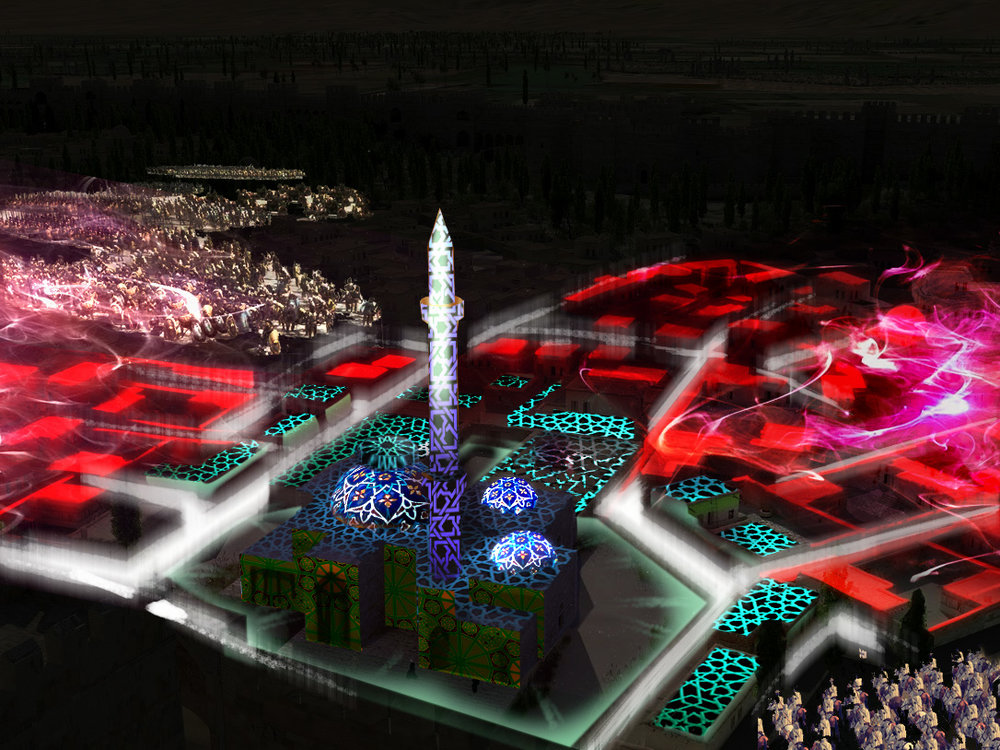 Projection Mapping on a Turkish Heritage Site Miniature