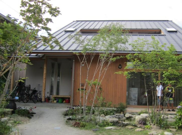 100mm以上の雨をためる性能を持つ住宅