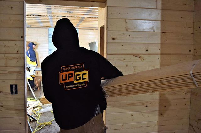 Everybody's working for the weekend!🎶 #happyfriday #UPGC #upgeneralcontracting #up #upperpeninsula #michigan #puremichigan #906 #builder #contractor #contractorsofinsta #contracting #weekend