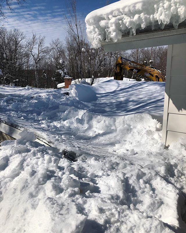 Have you had anything cave in or collapse due to our U.P. Weather? Give us a call today at 906.748.0778.