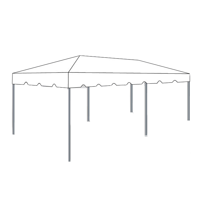 10 X 20 Frame Tent White Box K Events