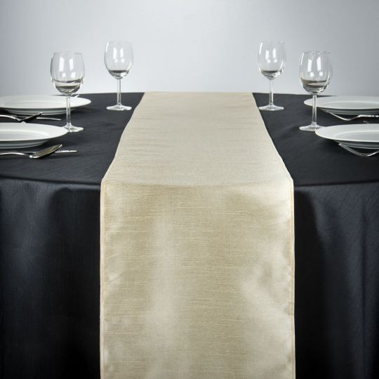 14 X 108 IN. SHANTUNG SILK TABLE RUNNER BEIGE.jpg