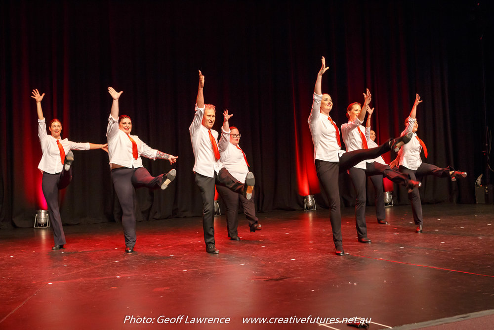 Picture : Those tap-dancing teachers.... Picture Credit: Geoff Lawrence, Creative Futures Photography