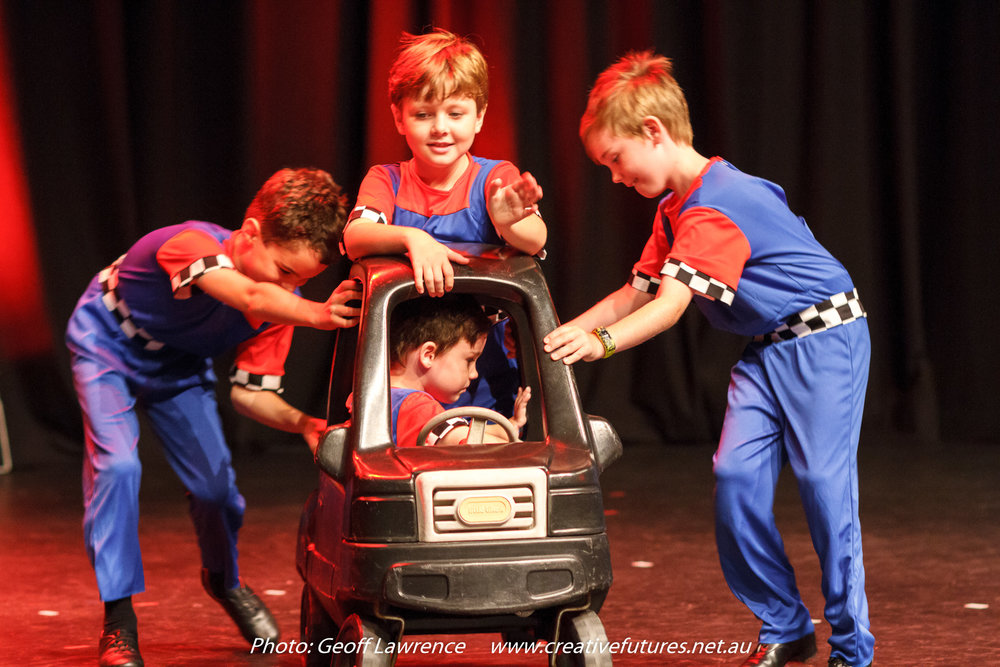 Picture: Great to see so many boys onstage. Picture credit: Geoff lawrence, Creative Futures Photography