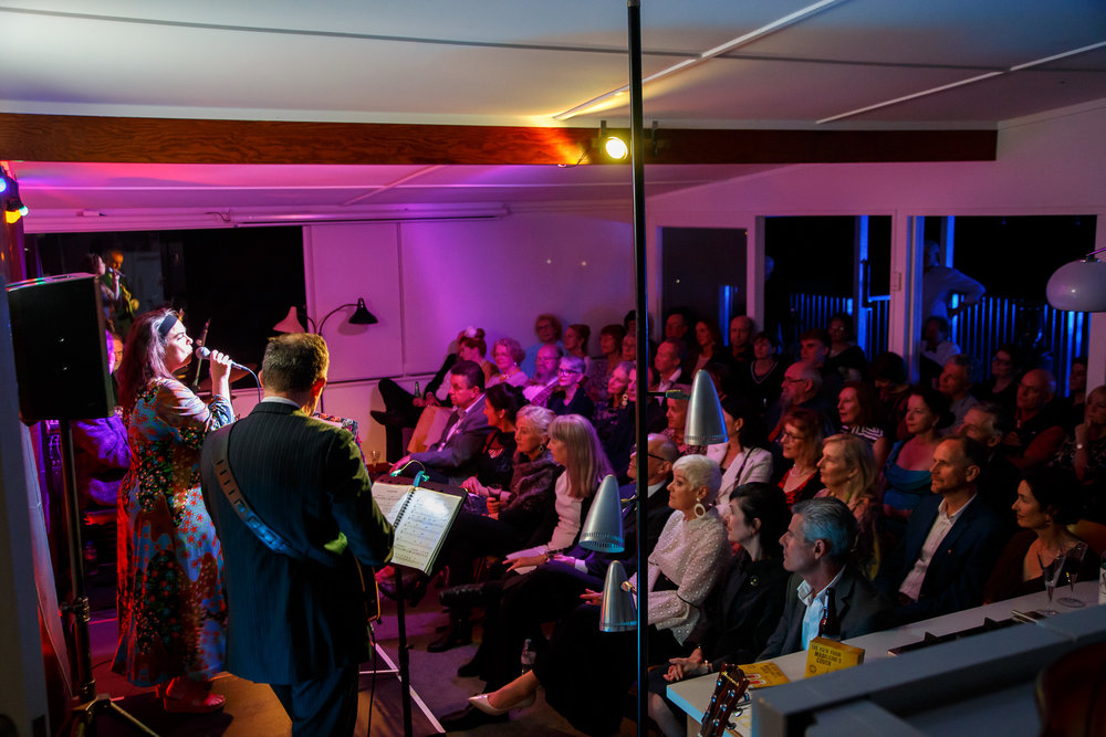 Pictured : Brisbane Modern audience at  To Sergio With Love . Picture Credit: Geoff Lawrence, Creative Futures Photography.