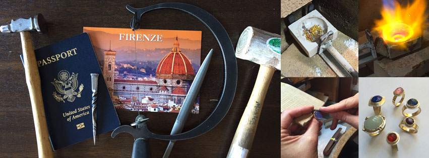 Grab your passport and join other metalsmiths for the next Metalsmiths in Florence workshop!