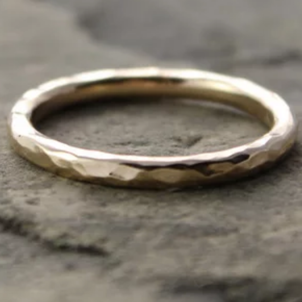 Create Your Own Gold Ring...   ...as a symbol of your inner journey...no experience necessary.