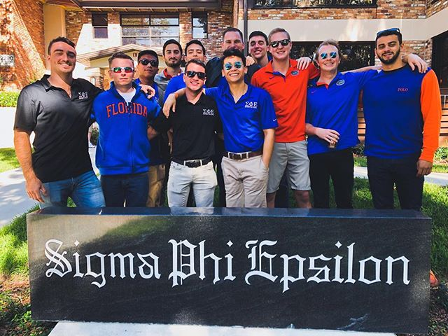 Here's to the Spring '16 founding class on their last tailgate. Thank you guys for all you've done for the chapter.
