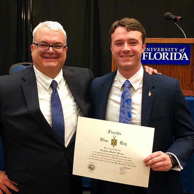 Congratulations to our brother and 2018 President Graham Boone for being tapped into Florida Blue Key. We are so proud of you and all the things you do for Florida Alpha and the UF community.
