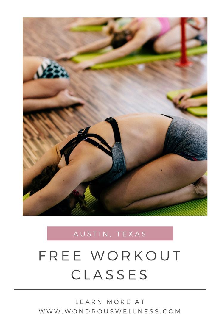 Free Workout Classes in Austin, Texas | Wondrous Wellness