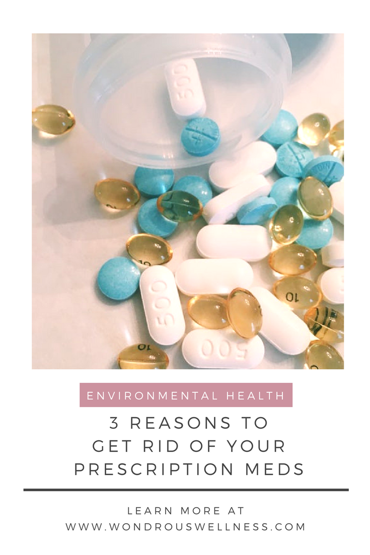 3 Reasons to Get Rid of Your Prescription Meds | Wondrous Wellness