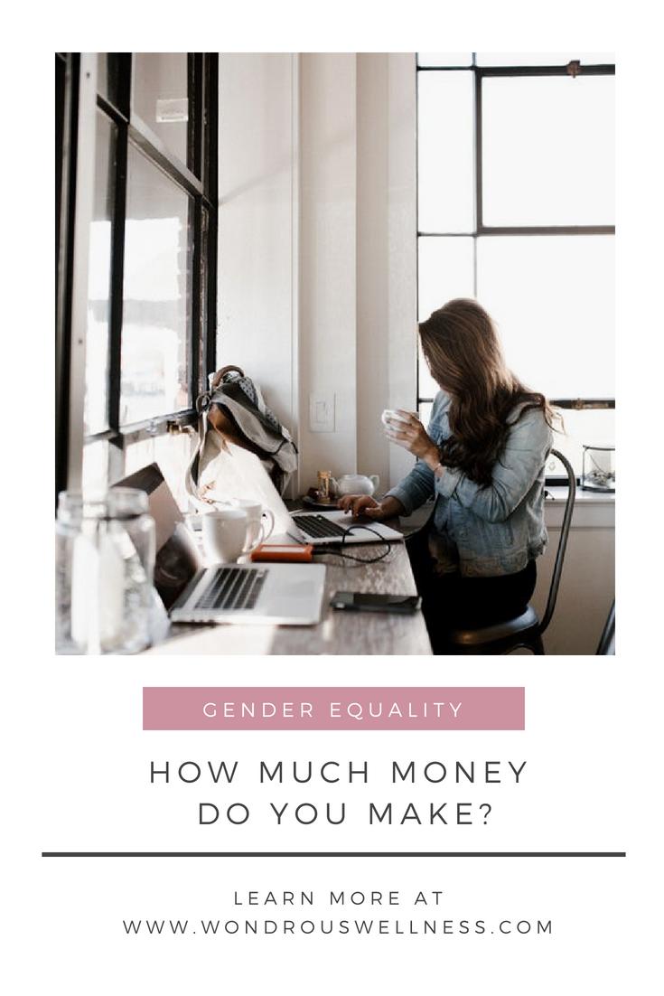 How Much Money Do You Make? | Wondrous Wellness