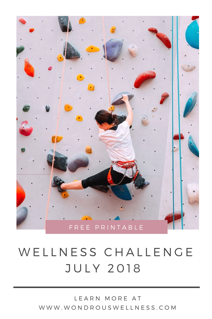 July 2018 Wellness Challenge