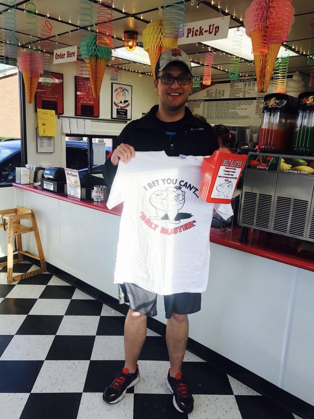 2017 Belt Buster Winner Ethan Teske