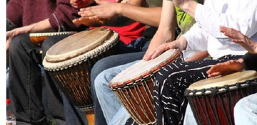 Weekly  -  West African Drumming  with Emily Jones. Held at Pure Life Chapel - 208 1/2 Clark St.