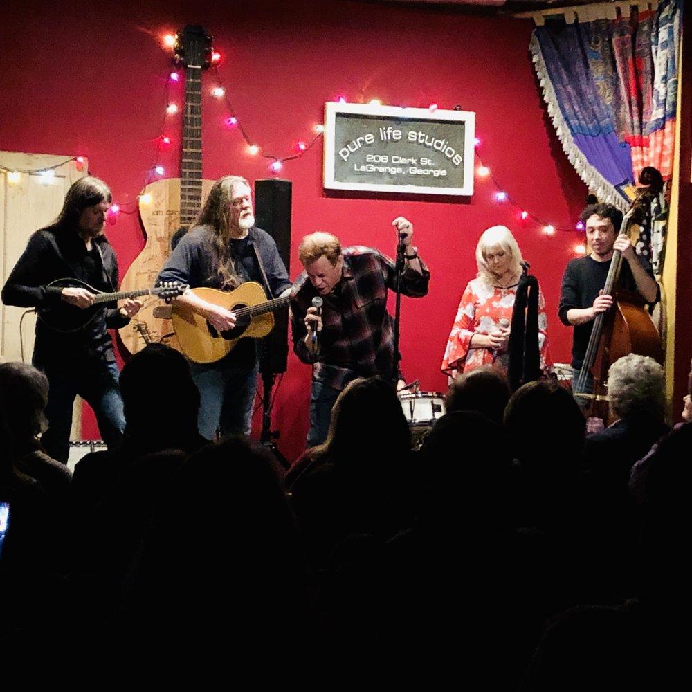 Jason Bailey, Barry Waldrep, Jimmy Hall, Chris Reeves, Donna Hall, Bryan Hall.