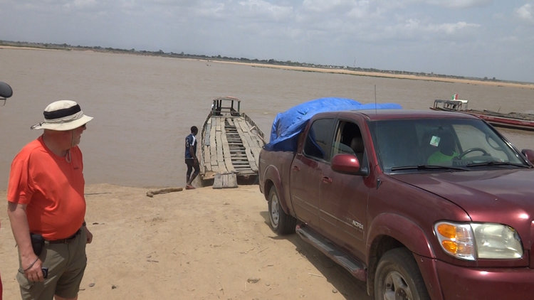 truck onto benue ferry chris congdon blog