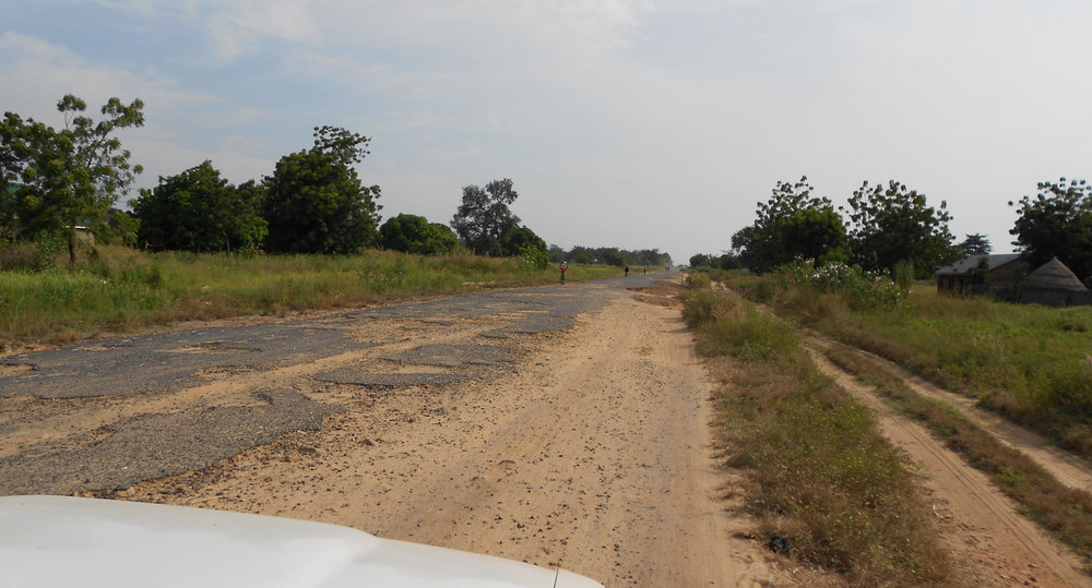 highway to Karim Lamido - Mark Fransdal photo