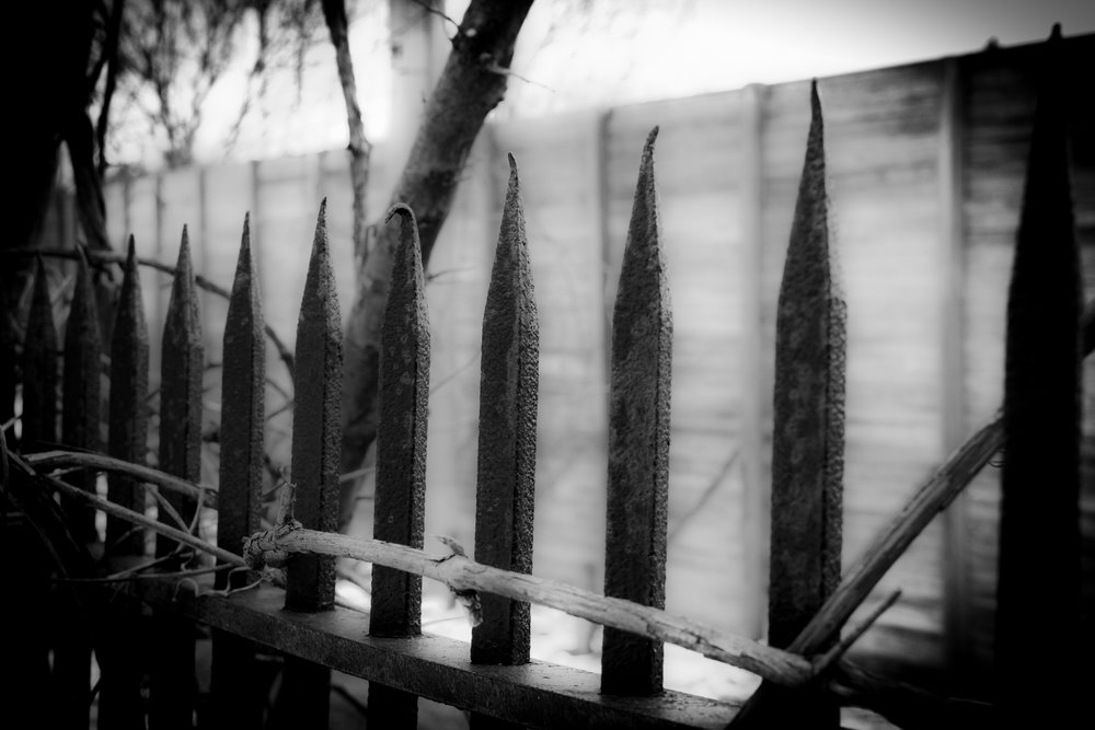 cemetery fence chris congdon upstairs project