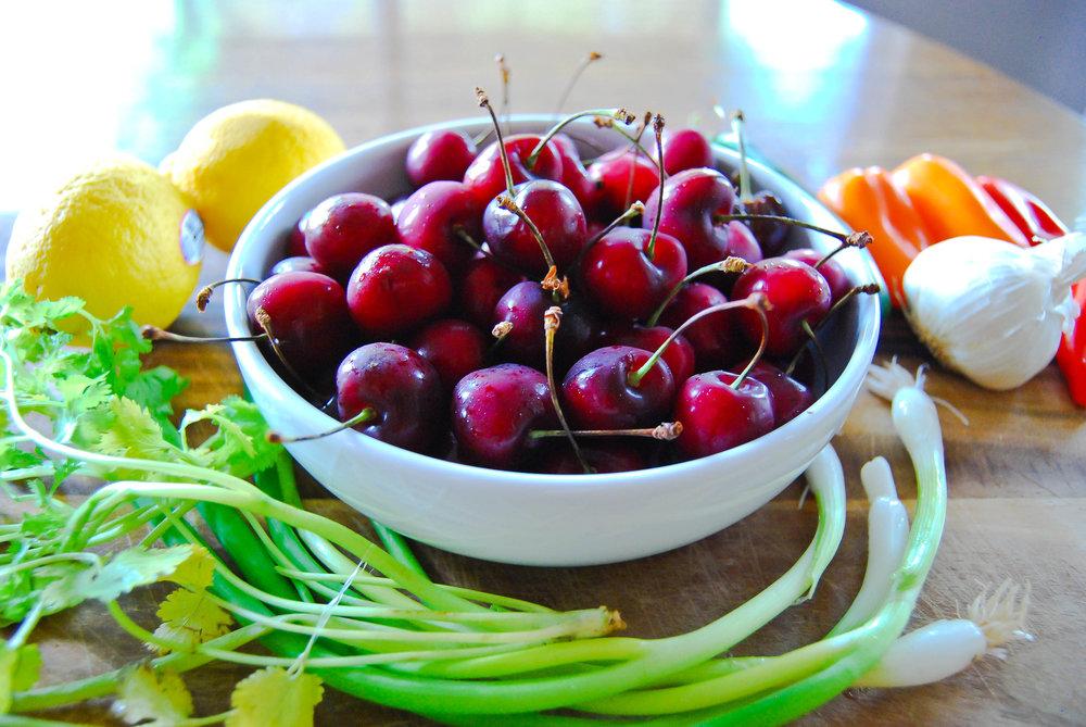 Hot Cherry Salsa | Front Range Fed