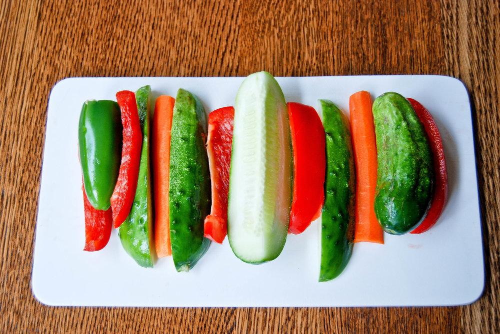 Charlotte's Homemade Refrigerator Pickles | Front Range Fed