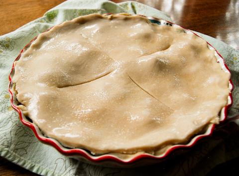Peach Pie Assembled