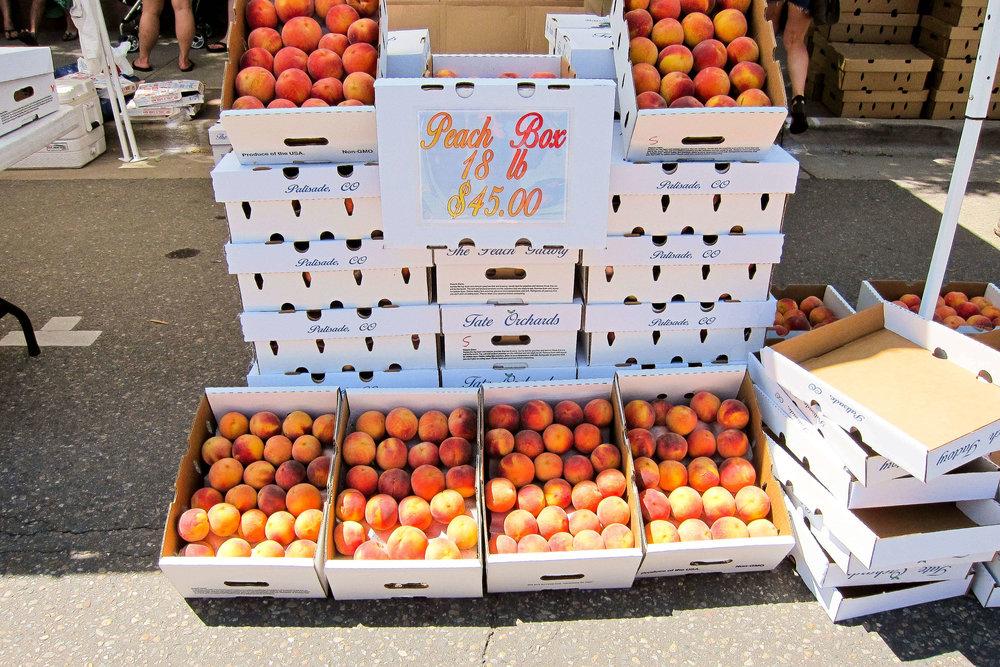 Lafayette Colorado Peach Festivle