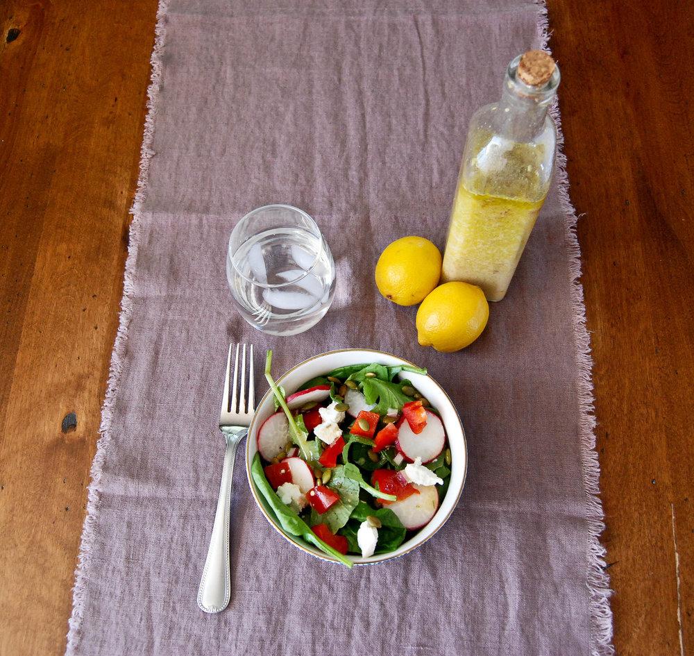 Lemon And Rosemary Vinaigrette Salad Dressing