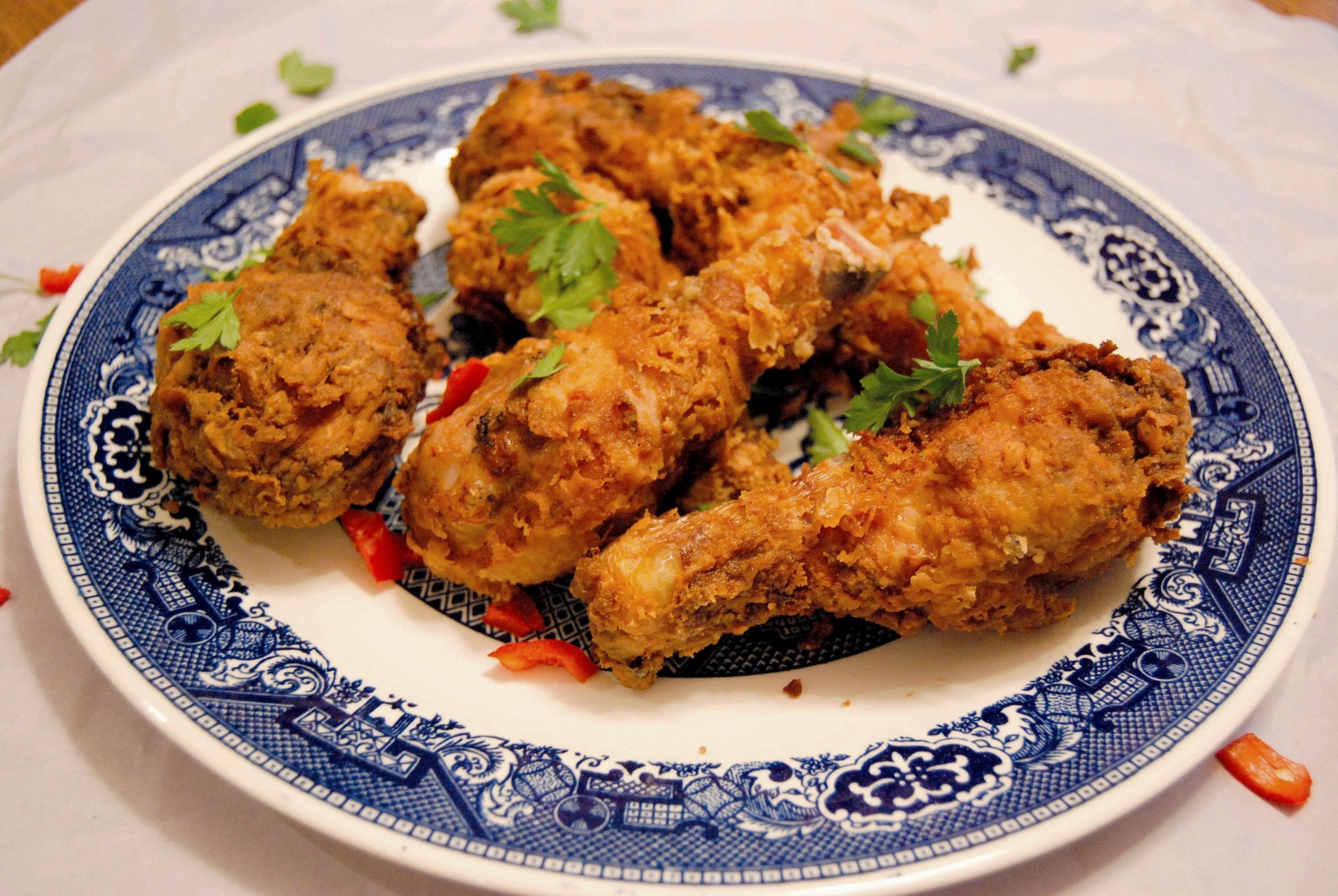 Front Range Fed Spicy Fried Chicken Drumsticks