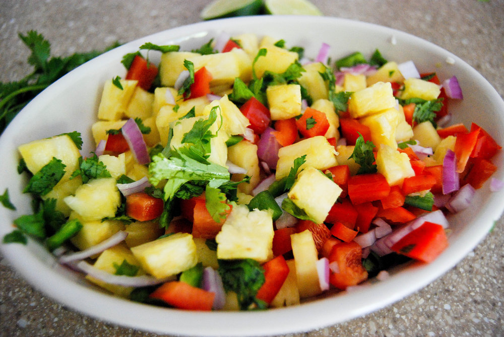 Sweet And Savory Pineapple Salsa