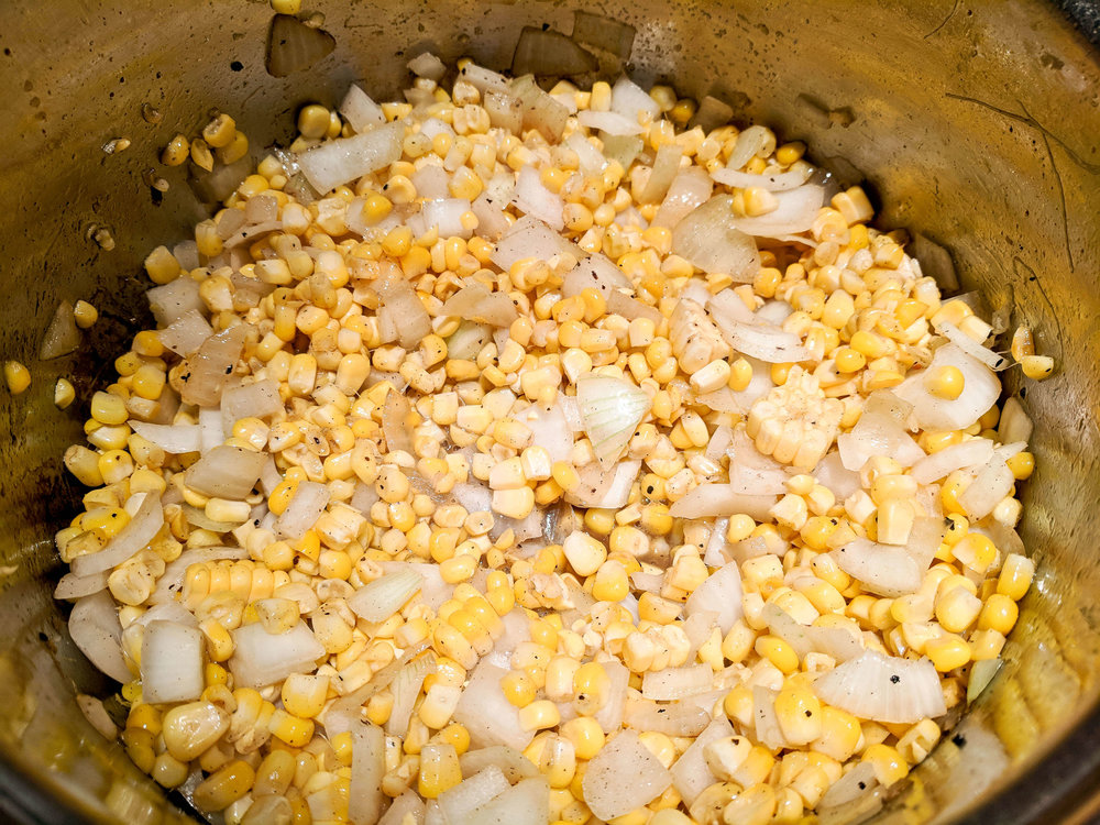Corn and Onions
