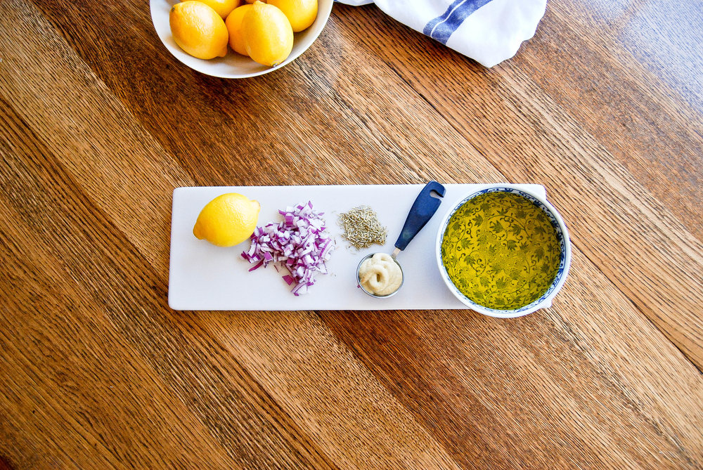 Lemon And Rosemary Vinaigrette Salad Dressing Ingredients