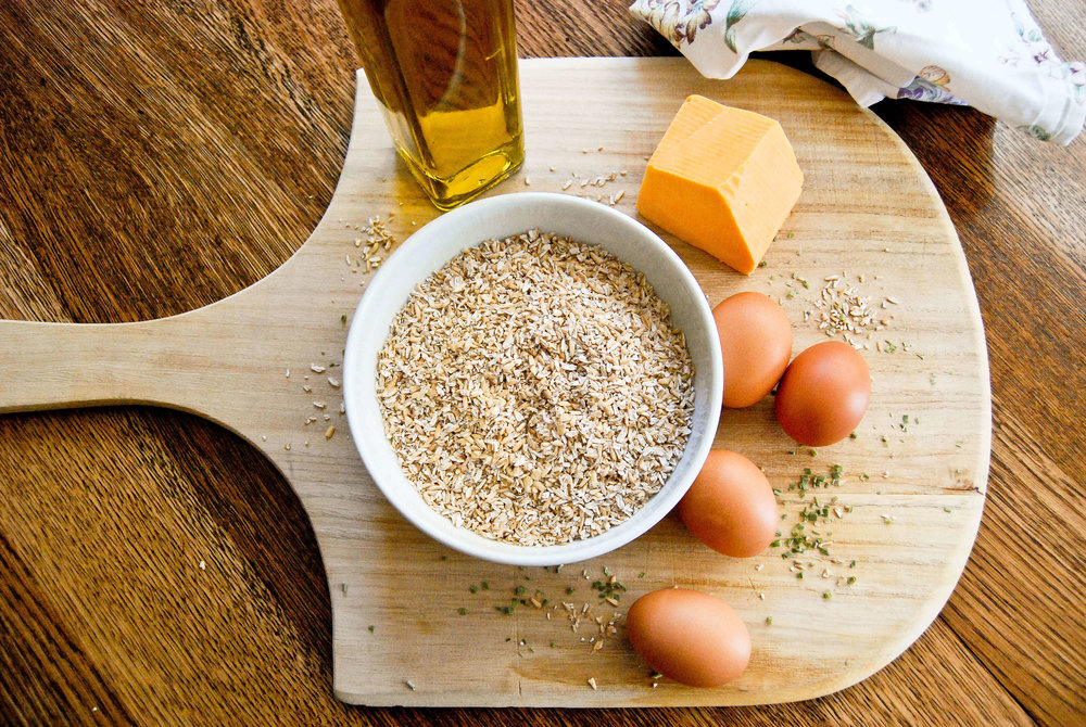 Savory Oats With Eggs And Cheese