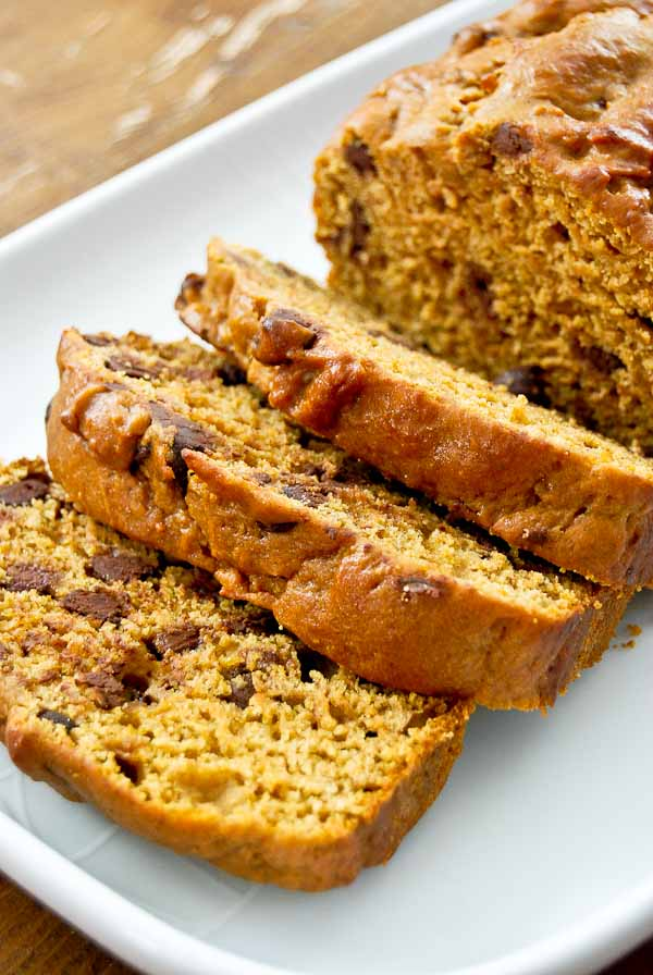 Easy, Moist Pumpkin Bread Recipe With Chocolate Chips