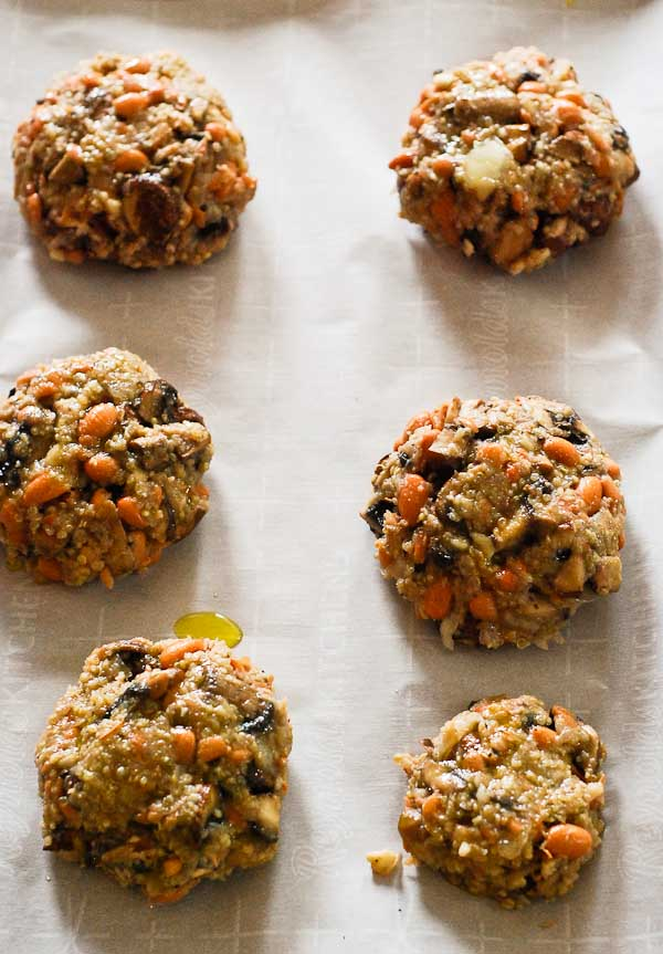 Veggie Mushroom Burgers Recipe